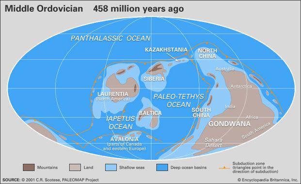 c93beaca8e9acf Le bombardement de météorites déclenché par cette collision pourrait être  responsable de l explosion de la vie marine qui a marqué l ordovicien.